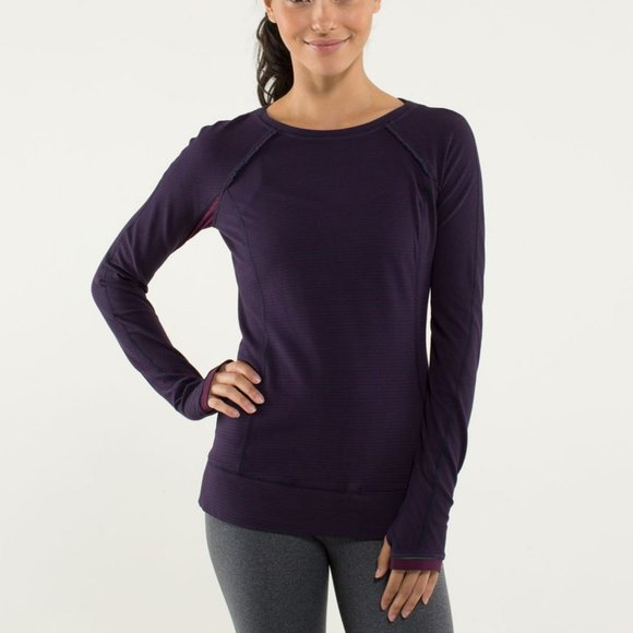 EUC Lululemon Full Tilt Long Sleeve